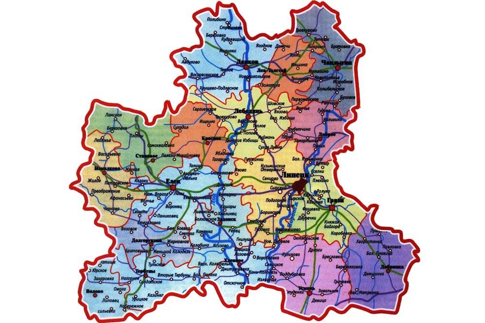 картинки карт липецкой области конструкция рельс